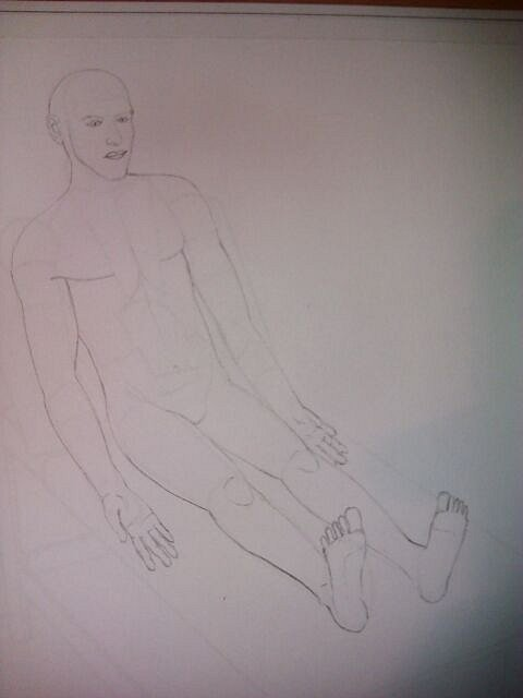 Patient Bedside Sketch